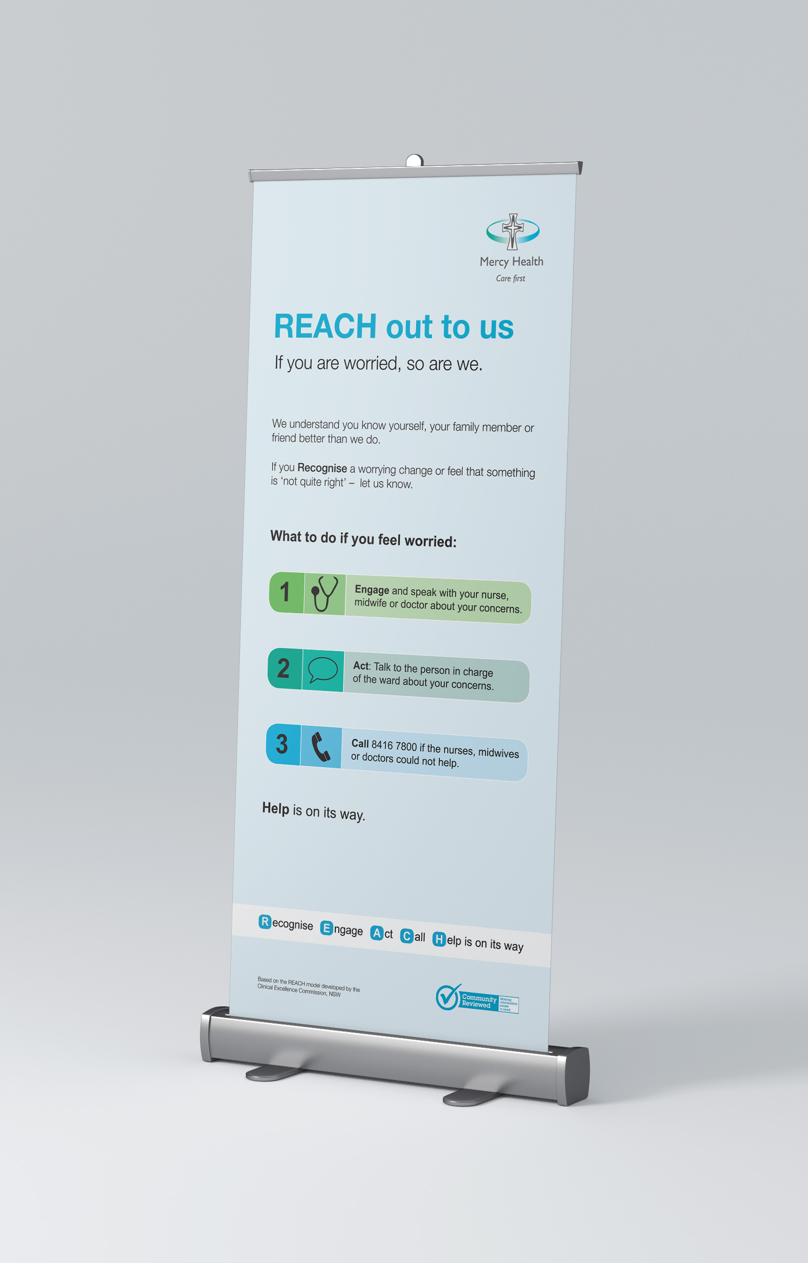 Mercy Health REACH Banner