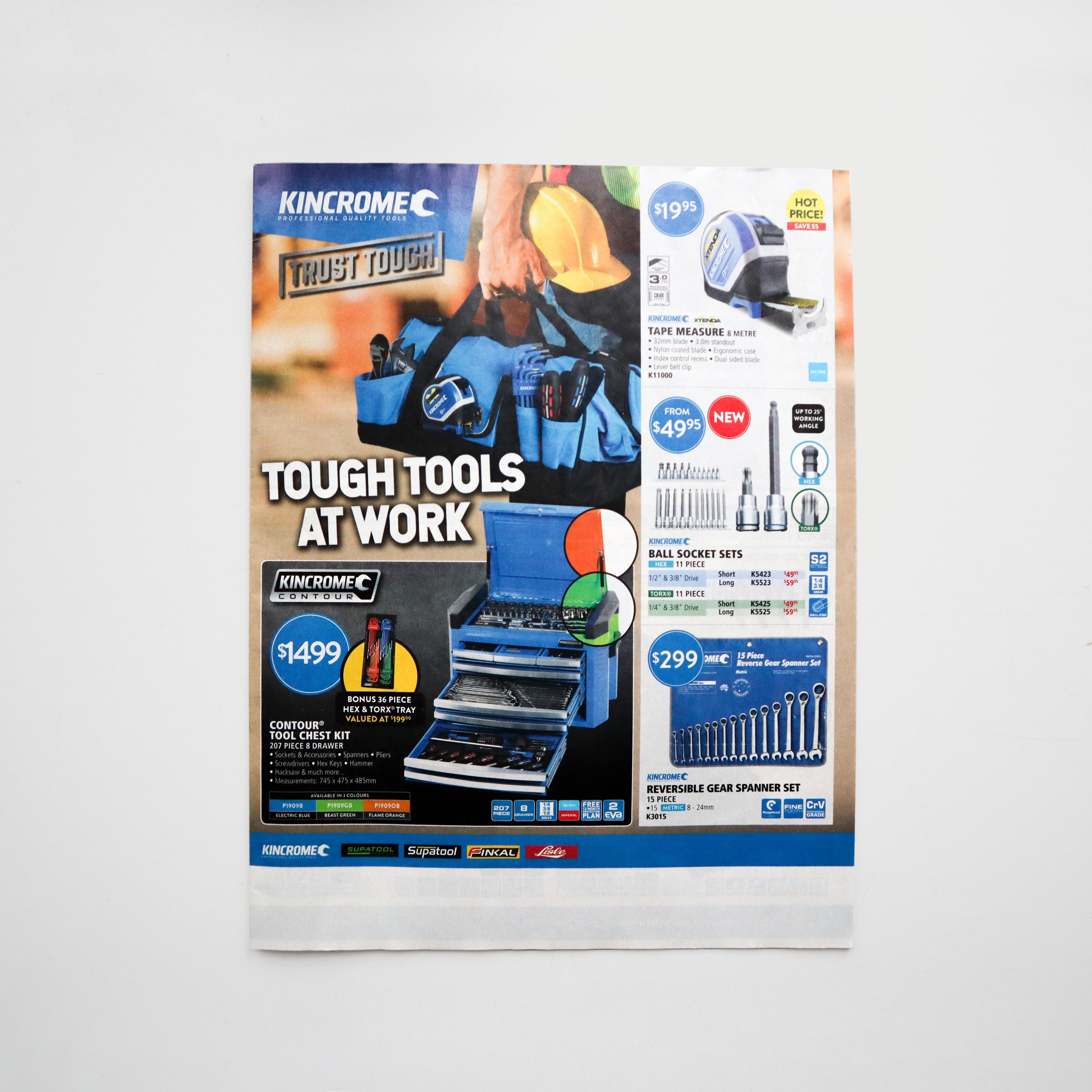 Kincrome Jan/Feb 2020 Catalogue - Front Cover
