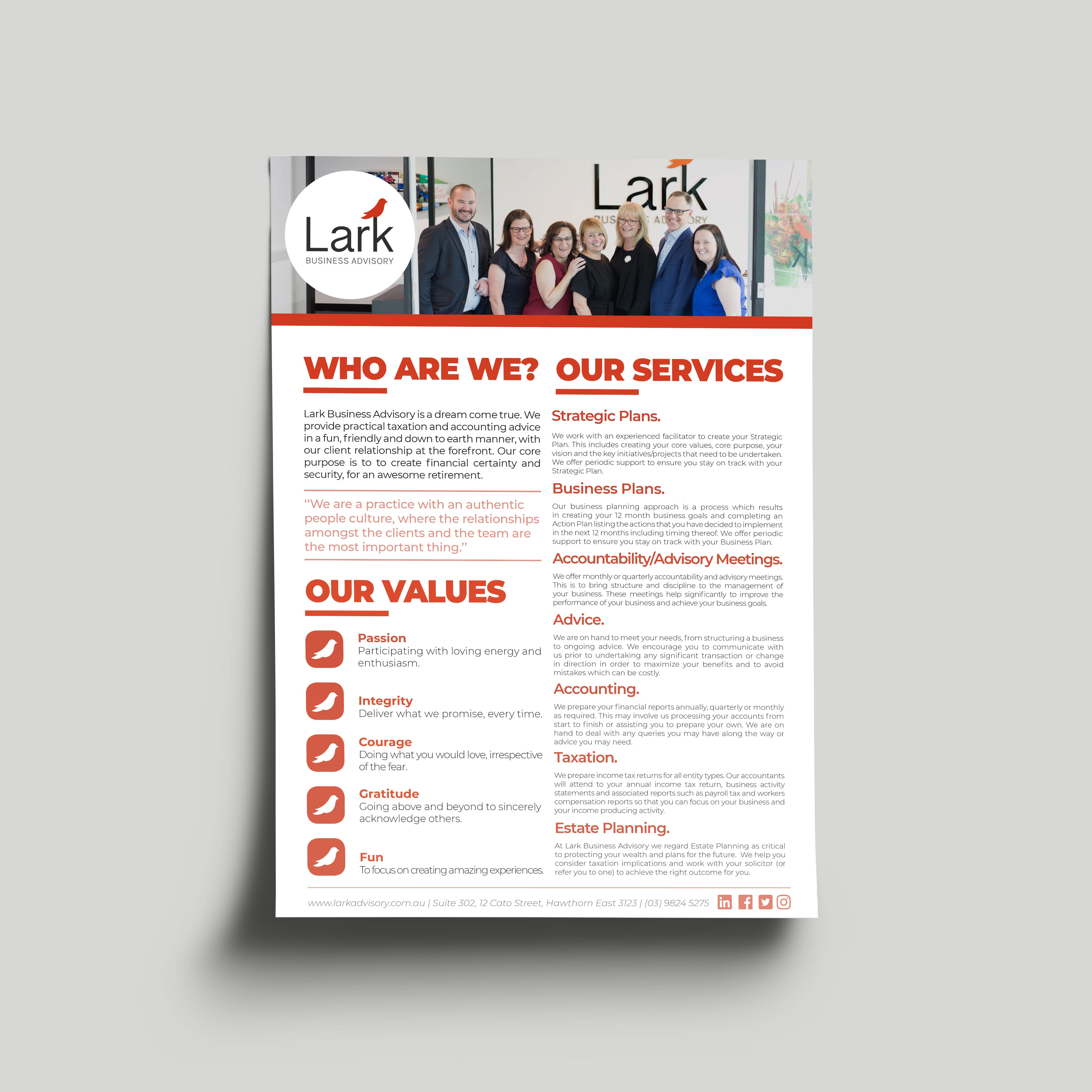 Lark Business Advisory - Digital PDF