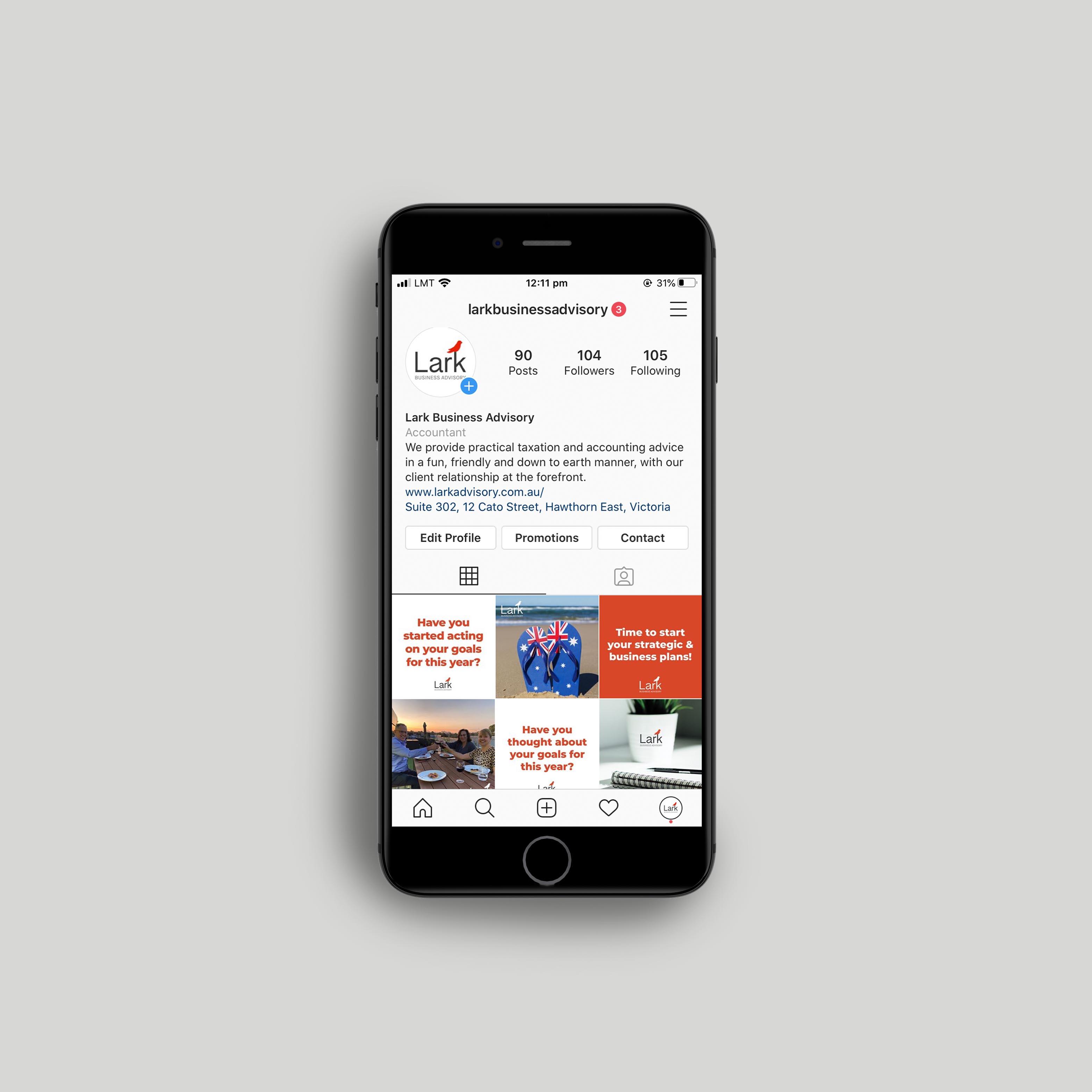 Lark Business Advisory - Instagram