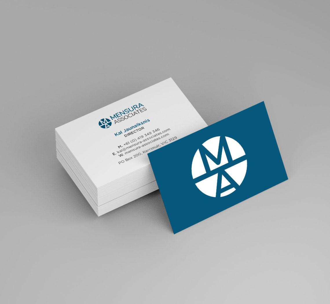 Mensura Associates - Business Cards